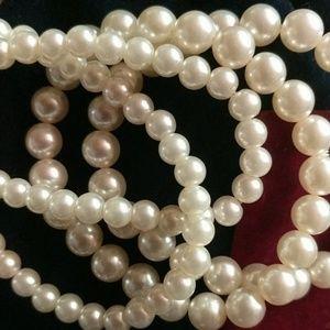 Jewelry - Pearl Bracelet Set